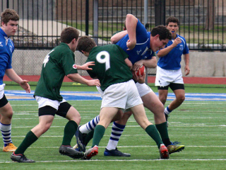 Rugby, Jesuit Dallas Showdown, March 14, 2015