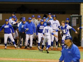 Baseball 2015: Jesuit Invitational Tournament (Game 2); JHS (5) vs Byrd High (2); John Ryan Stadium, March 6