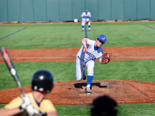 Baseball 2015: Jesuit Invitational Tournament (Game 3); JHS (8) vs Hahnville (4); John Ryan Stadium, March 7
