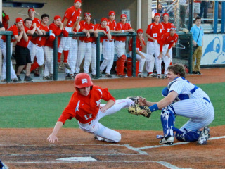 Baseball 2015: JHS (5) vs Archbishop Rummel (6); 10 Innings; John Ryan Stadium, March 27