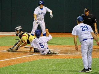 Baseball 2015: JHS (3) vs Brother Martin (2); John Ryan Stadium, April 1
