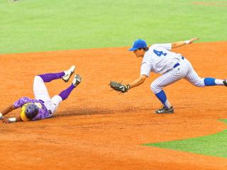 Baseball 2015: JHS (2) vs St. Augustine (0); John Ryan Stadium, April 10