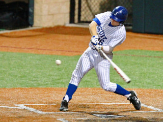 Baseball 2015: JHS (7) vs Holy Cross (0); John Ryan Stadium, April 17