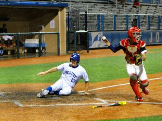 Baseball 2015: JHS (7) vs John Ehret (1); John Ryan Stadium, April 18