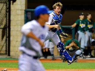 Baseball 2015: JHS (4) vs Archbishop Shaw (3); John Ryan Stadium, April 21