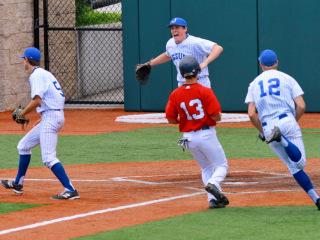 Baseball 2015: State Playoffs Class 5A, Regional Round Game 2; JHS (1) vs West Monroe (3); John Ryan Stadium, May 2