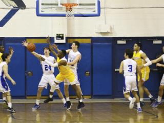 Basketball vs. St. Augustine, Feb. 17, 2017