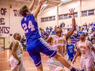 Basketball vs. St. Augustine, Jan. 31, 2014