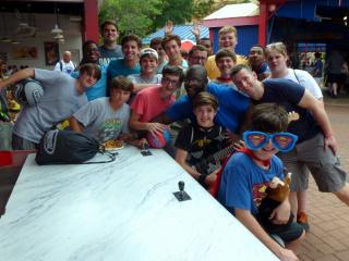 Pre-Freshmen Pilgrimage, May 26, 2014