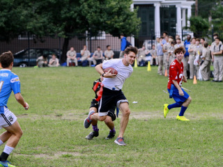 Homecoming Week 2014 - Seniors vs. Faculty Football, Oct. 2, 2014