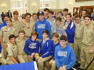 Scott Crabtree Signs Letter of Intent to Play at UNO; Wednesday, Nov. 12, 2014